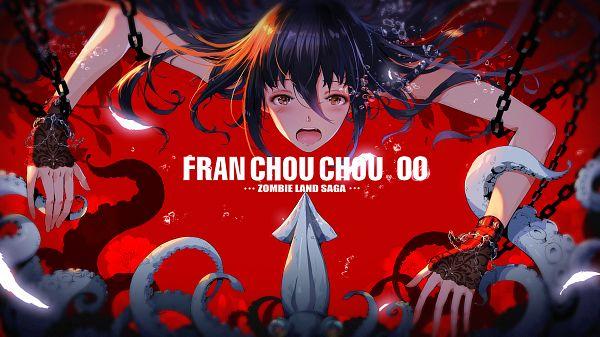 Tags: Anime, pcw, Zombieland Saga, Yamada Tae, Fanart From Pixiv, Pixiv, Fanart