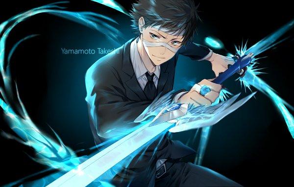 Tags: Anime, Ekita_Kuro, Katekyo Hitman REBORN!, Yamamoto Takeshi, Pixiv