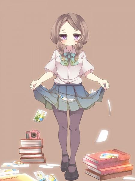Tags: Anime, Pixiv Id 1259466, Level-5, Inazuma Eleven, Inazuma Eleven GO, Yamana Akane, Shindou Takuto