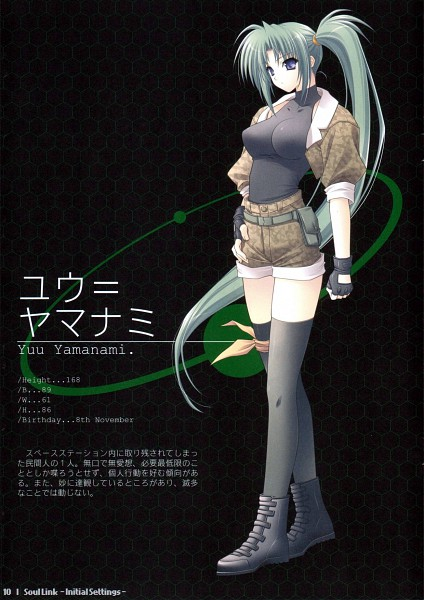 Tags: Anime, Suzuhira Hiro, Navel (Studio), Soul Link, Yamanami Yu, Character Profile