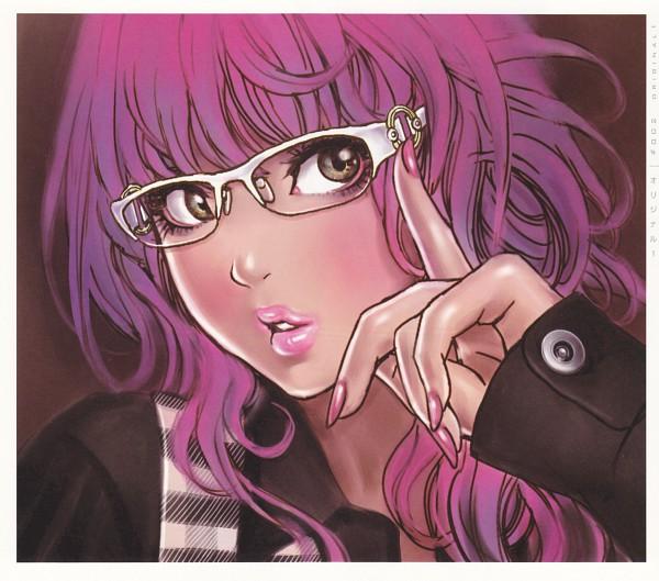Tags: Anime, Yamashita Shunya, Yamashita Shunya's One Voice, Brown Shirt, Original, Scan