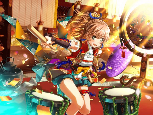 Tags: Anime, Craft Egg, BanG Dream! Girls Band Party!, Yamato Maya, Official Card Illustration, Official Art