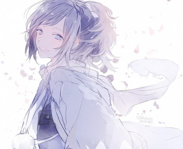 Tags: Anime, Pixiv Id 4162667, Touken Ranbu, Yamato no Kami Yasusada, PNG Conversion