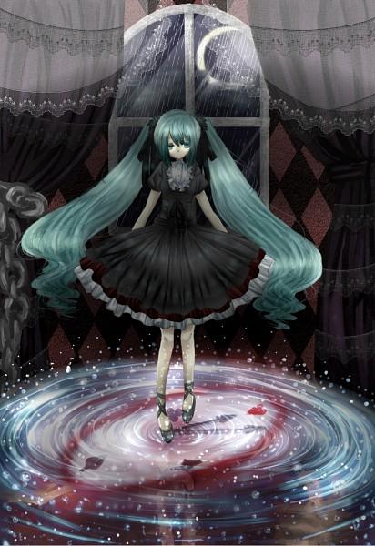 Tags: Anime, VOCALOID, Hatsune Miku, Yami Iro Alice, Darkness Color Alice