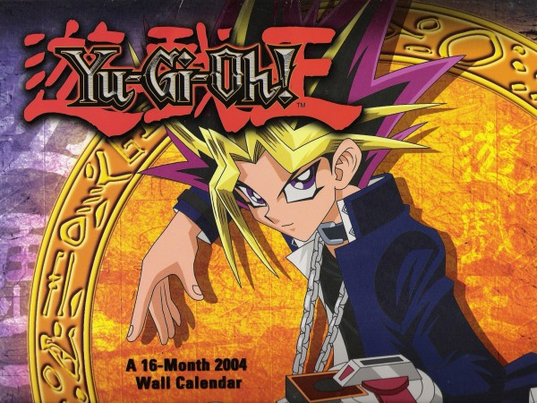 Tags: Anime, Studio Gallop, Yu-Gi-Oh! Duel Monsters, Yu-Gi-Oh!, Yami Yugi, Calendar (Source), Official Art, Self Scanned, Scan