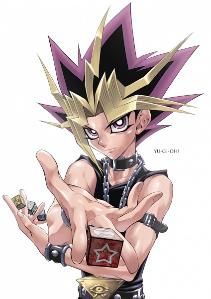 Tags: Anime, Rokuro, Yu-Gi-Oh!, Yu-Gi-Oh! Duel Monsters, Yami Yugi, Chain Necklace, Dice, PNG Conversion, Mobile Wallpaper, Fanart, Pixiv, Fanart From Pixiv