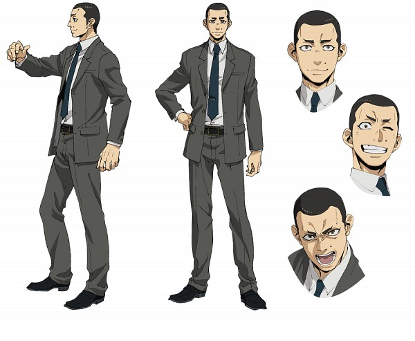 Anime Characters In Suits : Yang gangsta image zerochan anime board