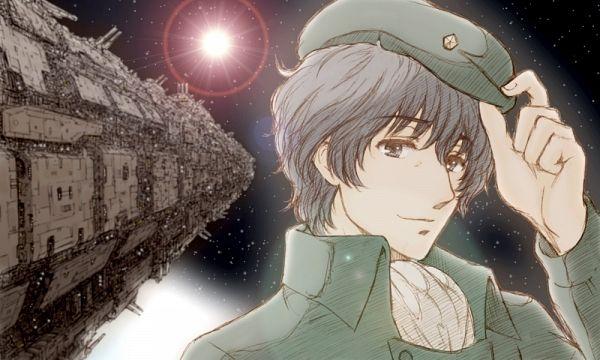 Tags: Anime, Colorz, Ginga Eiyuu Densetsu, Yang Wen-li