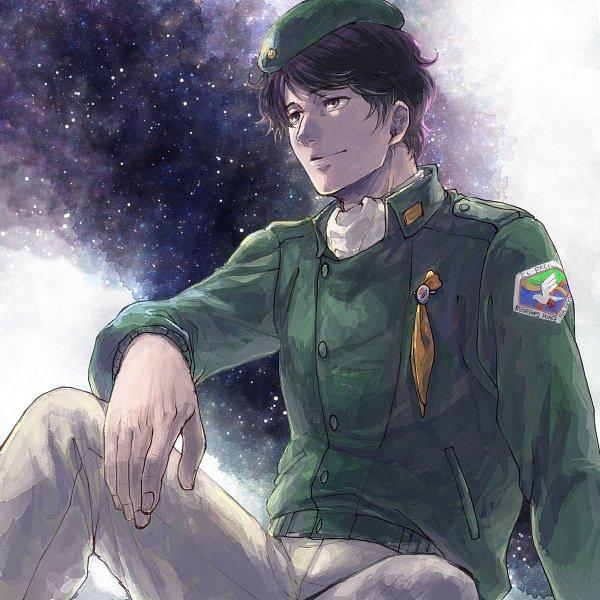 Tags: Anime, Azuma Shouko (Artist), Ginga Eiyuu Densetsu, Yang Wen-li, Galaxy