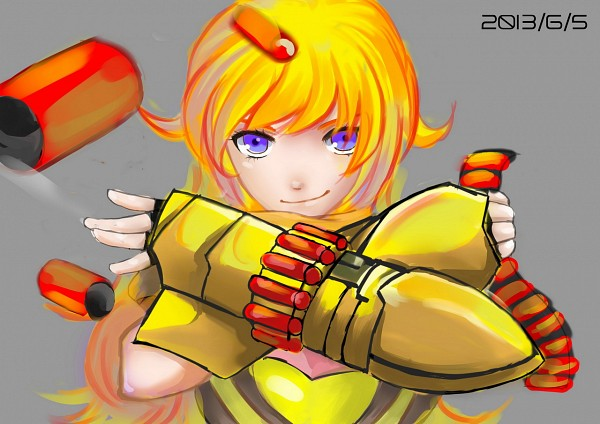 Tags: Anime, Pixiv Id 4830067, RWBY, Yang Xiao Long, Shotgun