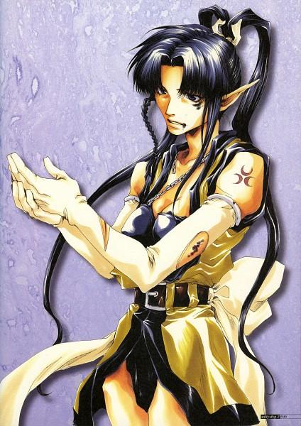 Tags: Anime, Minekura Kazuya, Saiyuki, Yaone, Scan, Official Art