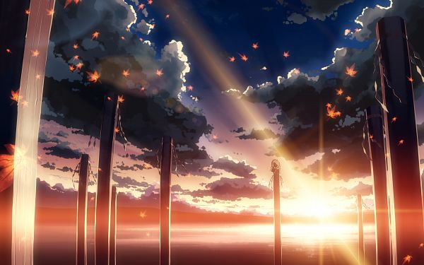 Tags: Anime, Yuuki Tatsuya, Touhou, Mountain of Faith, Yasaka Kanako, Column, Shimenawa, Lens Flare, Wallpaper, HD Wallpaper, Fanart From Pixiv, Fanart, Pixiv, Kanako Yasaka