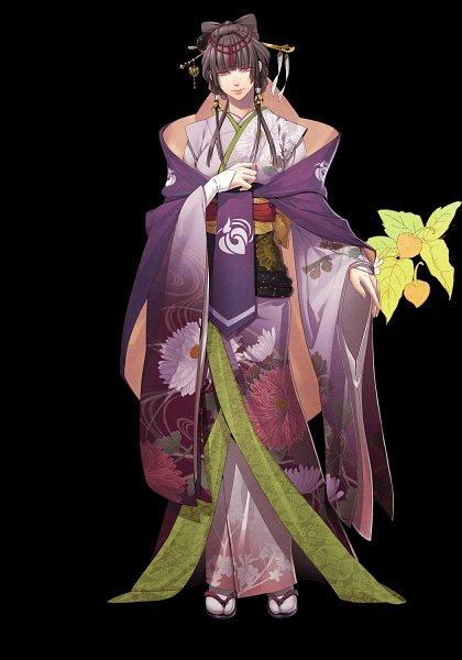 Tags: Anime, miko (Artist), Otomate, DESIGN FACTORY, IDEA FACTORY, Toki no Kizuna, Yase Kazuha, Official Art