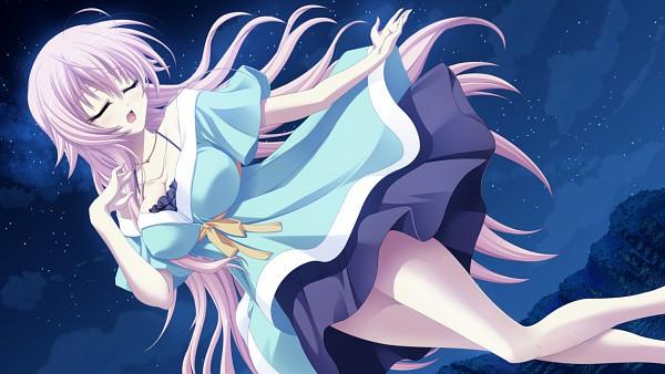 Tags: Anime, PeasSoft, Ama Ane, Yashima Yuzuki, Wallpaper, CG Art