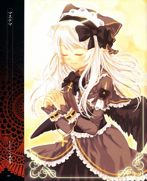 Tags: Anime, Yashiro Seika, Angel and Devil Encyclopedia: Dark and Light Side Books, Pixiv, Original, Scan