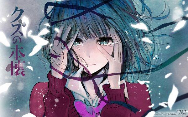 Tags: Anime, Yokoyari Mengo, Kuzu no Honkai, Yasuraoka Hanabi, Motion Blur, Official Art, Official Wallpaper, Wallpaper