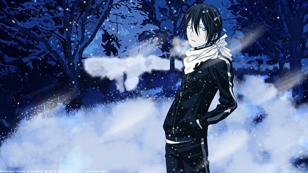 Tags: Anime, Noragami, Yato (Noragami), HD Wallpaper, Facebook Cover, Wallpaper