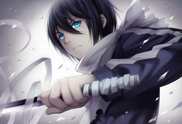 Tags: Anime, Tidsean, Noragami, Yato (Noragami), PNG Conversion, Pixiv, Fanart From Pixiv, Fanart