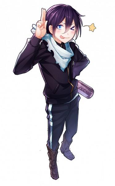 Tags: Anime, Steelleets, Noragami, Yato (Noragami), ;P, Pixiv, Fanart From Pixiv, Fanart, Mobile Wallpaper