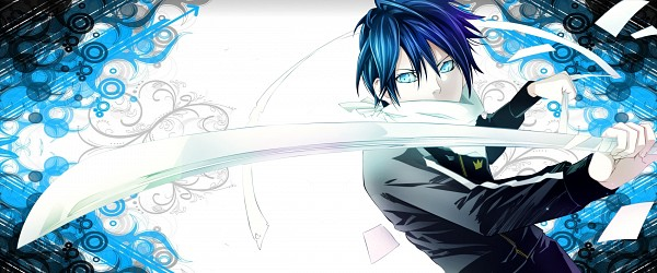 Tags: Anime, Noragami, Yato (Noragami), Edited, Facebook Cover, Artist Request