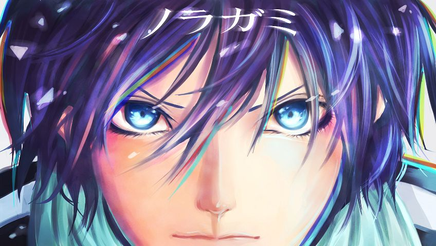 Tags: Anime, Pixiv Id 9761400, Noragami, Yato (Noragami), PNG Conversion, Facebook Cover