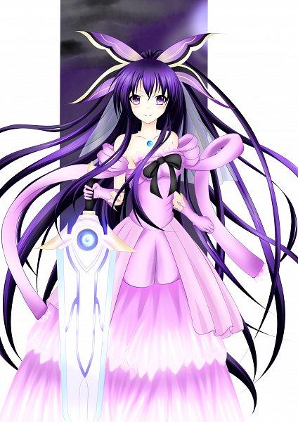 Tags: Anime, Pixiv Id 6629182, Date A Live, Yatogami Tohka, Pink Handwear, Pink Gloves, Fanart From Pixiv, Pixiv, Fanart