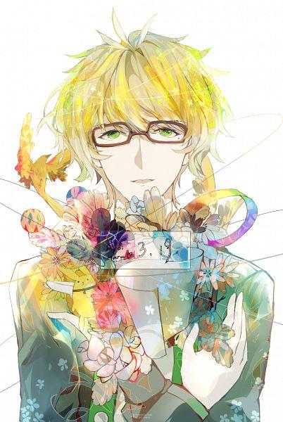 Tags: Anime, Pixiv Id 5942524, Tsukiuta, Yayoi Haru, Fanart From Pixiv, Pixiv, Fanart