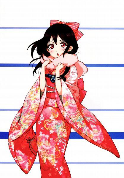 Tags: Anime, Sunrise (Studio), KLab, Love Live!, Love Live! School Idol Festival Official Illustration Book, Love Live! School Idol Festival, Yazawa Niko, Official Art, Scan, Mobile Wallpaper