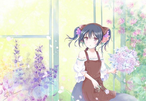 Tags: Anime, Pixiv Id 2863963, Love Live!, Yazawa Niko, Garden, Fanart From Pixiv, Fanart, Pixiv