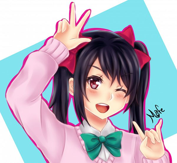 Tags: Anime, Pixiv Id 4335118, Love Live!, Yazawa Niko, deviantART, Nico Yazawa