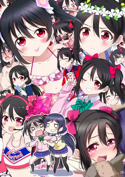 Tags: Anime, Pixiv Id 4463885, Love Live!, Toujou Nozomi, Yazawa Niko, Toujou Nozomi (Cosplay), Yume no Tobira, Pixiv, Fanart From Pixiv, Fanart, Nico Yazawa