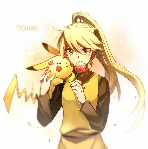 Tags: Anime, Aki (Pixiv560597), Pokémon SPECIAL, Pokémon, Yellow (Pokémon Special), Pikachu, Fanart, Pixiv, Fanart From Pixiv