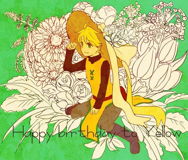 Tags: Anime, Pixiv Id 2273344, Pokémon SPECIAL, Pokémon, Yellow (Pokémon Special), Daisy (Flower), Pixiv, Fanart From Pixiv, Fanart