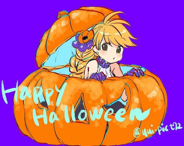 Tags: Anime, Pixiv Id 5315989, Pokémon SPECIAL, Pokémon, Yellow (Pokémon Special), Text: Halloween