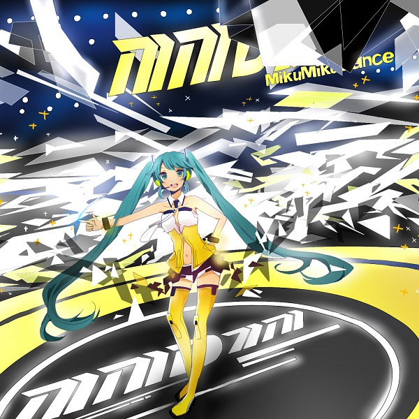 Tags: Anime, Komine, Project DIVA 2nd, VOCALOID, Hatsune Miku, Append, Yellow (Song), Pixiv, Project DIVA Yellow