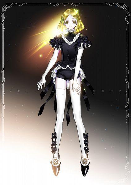 Tags: Anime, Pixiv Id 1601326, Houseki no Kuni, Yellow Diamond, Pixiv, Fanart, Fanart From Pixiv
