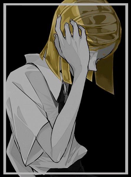 Tags: Anime, Pixiv Id 15411339, Houseki no Kuni, Yellow Diamond, Face Down, Pixiv, Fanart, Fanart From Pixiv