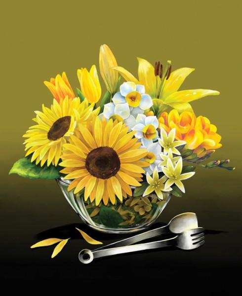 Yellow Flower - Flower