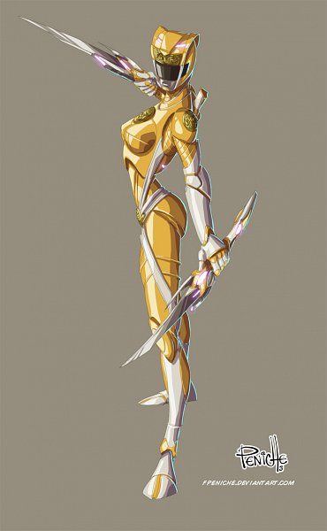Tags: Anime, Fpeniche, Power Rangers, Yellow Ranger, Fanart, Fanart From DeviantART, deviantART