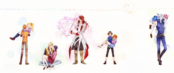 Tags: Anime, Pixiv Id 1642557, Smile Precure!, Suite Precure♪, Fresh Precure!, Heartcatch Precure!, Yes! Precure 5, Westar, Infinity Silhouette, Kasugano Urara, Hanasaki Tsubomi, Amai Shiro, Minamino Souta