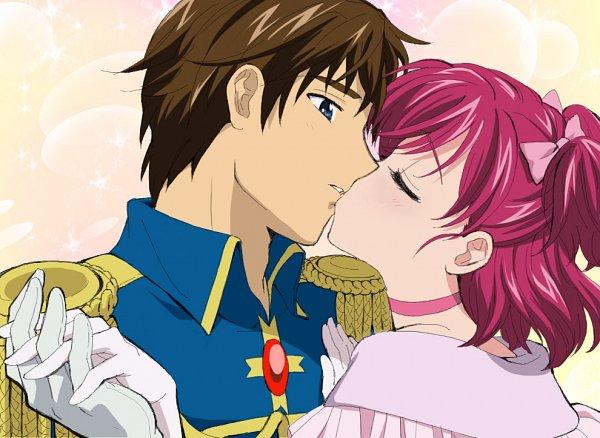 Tags: Anime, Kanimayo, Yes! Precure 5, Yumehara Nozomi, Coco (Pretty Cure), Kokoda Kouji, Fanart From Pixiv, Fanart, Pixiv