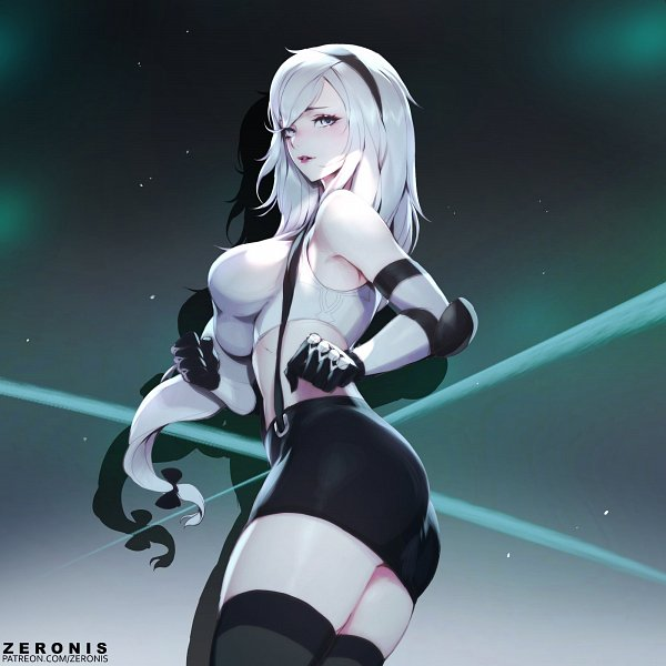 Tags: Anime, ZeroNis, Final Fantasy VII, NieR: Automata, Tifa Lockhart, YoRHa No.2 Type B, Tifa Lockhart (Cosplay)