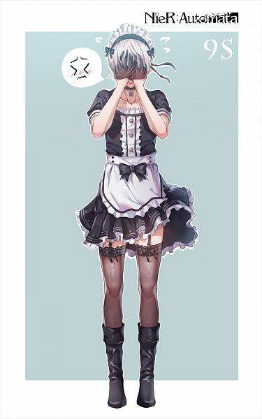 Tags: Anime, Pixiv Id 12682841, NieR: Automata, YoRHa No.9 Type S, Fanart From Pixiv, Pixiv, Fanart