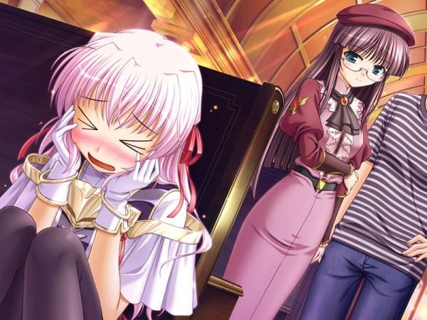Tags: Anime, August (Studio), Yoake Mae yori Ruriiro na, Karen Clavius, Estel Freesia, CG Art, A Brighter Blue Than That Before The Dawn