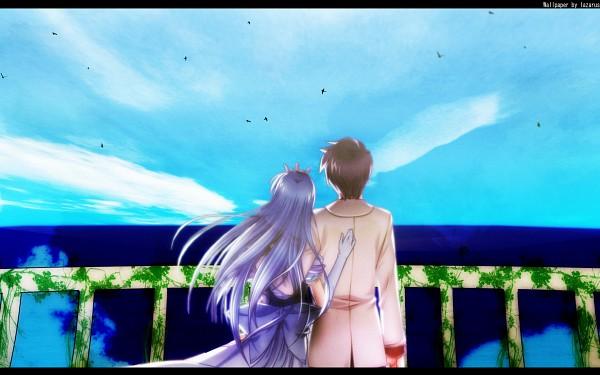 Tags: Anime, August (Studio), Yoake Mae yori Ruriiro na, Wallpaper, A Brighter Blue Than That Before The Dawn