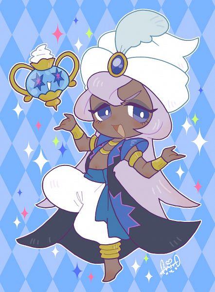 Tags: Anime, Shir0, Cookie Run: OvenBreak, Cookie Run, Magic Lamp, Yogurt Cream Cookie, Fanart From Pixiv, Pixiv, Fanart