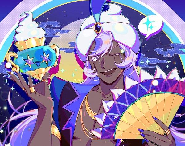 Tags: Anime, Dnch, Cookie Run: OvenBreak, Cookie Run, Yogurt Cream Cookie, Magic Lamp, Fanart, Twitter