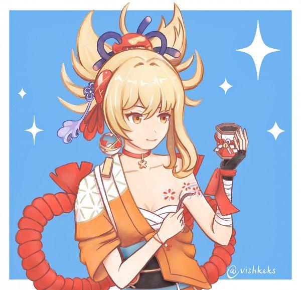 Tags: Anime, Pixiv Id 6832689, Genshin Impact, Yoimiya
