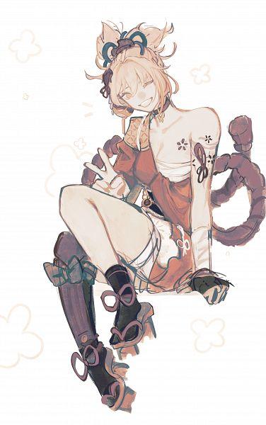 Tags: Anime, Lynune, Genshin Impact, Yoimiya, Fanart, Fanart From Tumblr, Tumblr