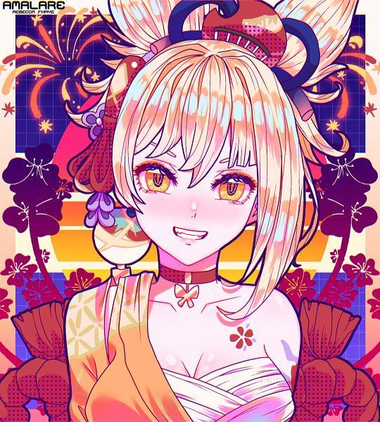 Tags: Anime, Amalare, Genshin Impact, Yoimiya, Fanart, Fanart From Pixiv, Pixiv